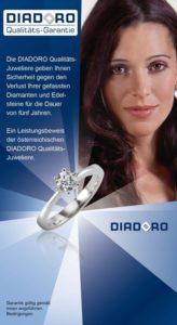 Qualitätsgarantie Diadoro